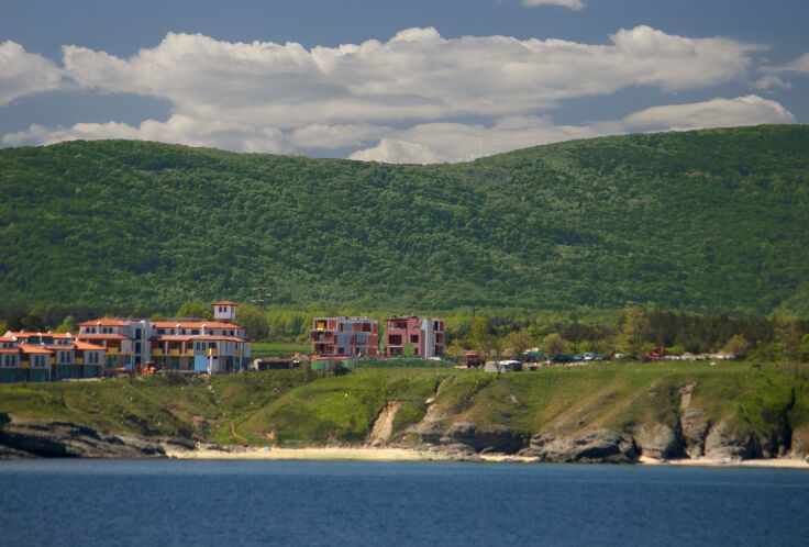 Sea view Seagarden Resort Lozenets
